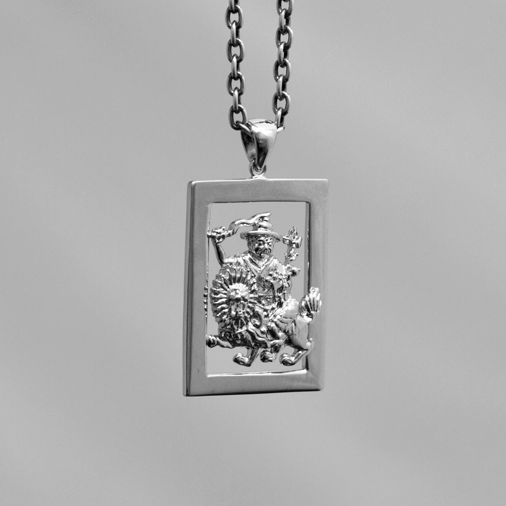 as the dorje hand double pendant it pin tibetan to crafted thunderbolt referred