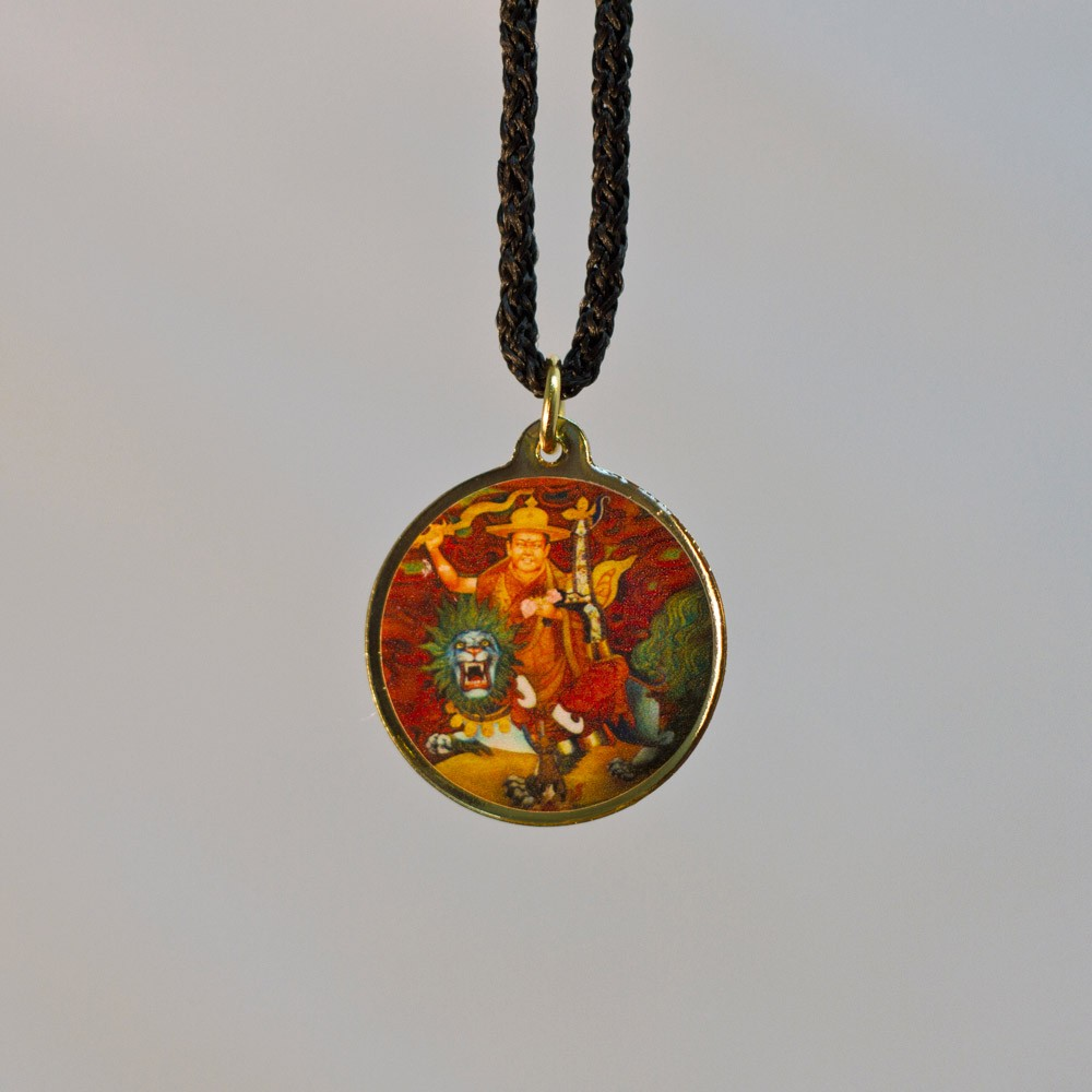 necklace dorje long pendant sacred honoring img the gold double turquoise product and