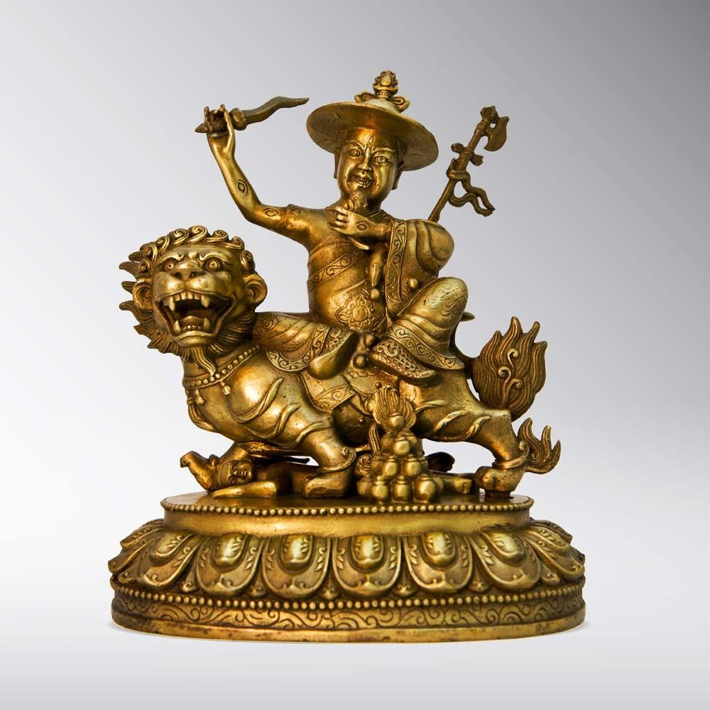 Shugden Statue Dorje Shugden Brass Statue