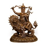 Dorje Shugden Copper Statue (39 inches)