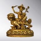 Dorje Shugden Brass Statue